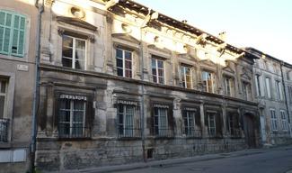 FAÇADE REMARQUABLE : HOTEL DE FAILLONNET - Saint-Mihiel