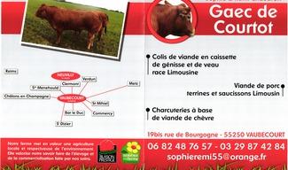 GAEC DE COURTOT - Vaubecourt