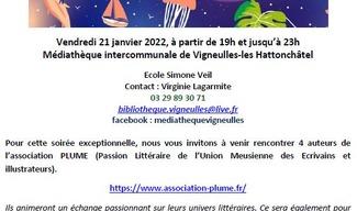 NUIT DE LA LECTURE - Vigneulles-lès-Hattonchâtel