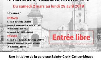 EXPOSITION 'LES EGLISES AVANT, PENDANT ET APRES LA GUERRE 14-18' - Saint-Mihiel