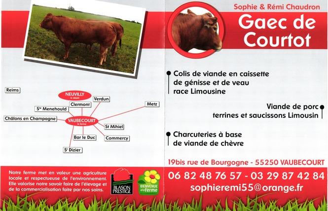 GAEC DE COURTOT 1 - Vaubecourt